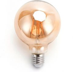 LED FIlament G95 E27 8W 2200k amber