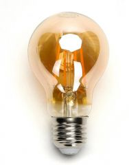 LED FIlament A60 E27 6W 2200k amber
