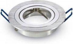 5x Led spot armatuur aluminium